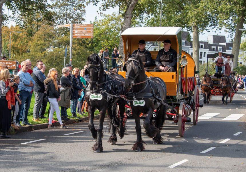 Paard en wagen Grolsch